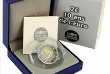 Monedas 2 Euros Xº ANIV. EURO