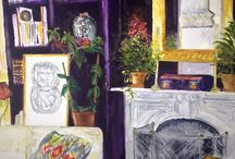 Art Interiors / Paintings of rooms