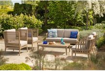 Tuinmeubelen lounge teak