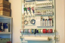 Craft & Sewing Room Organisation