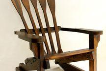 Скамейки, стулья кресла
