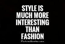 Style, fashion, so classy