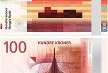 Billets Norvège / Les billets en circulation sont : 50, 100, 200, 500 et 1000. Ils vont être progressivement remplaçés. 2017 : mise en circulation des nouveaux 100 et 200 NOK 2018 : mise en circulation des nouveaux billets de 50 et 500 2019 : mise en circulation des nouveaux billets de 1000