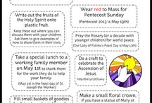 Liturgical Year: May / by Andrea Lucero-Watje