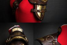 steampunk shoulder pad