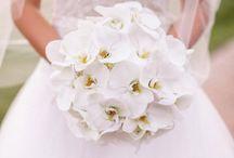 orchids bouquet wedding