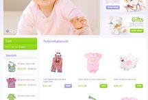 Baby Store osCommerce