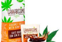 Cannabissimo coffee with hemp seeds