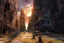 Life After the Apocalypse / Владимир Манюхин Произведения - Vladimir Manyuhin artworks