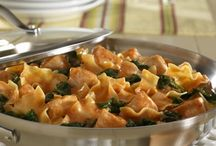 Food: Pasta / Pasta is something you can make many delicious dishes with like the awesome pasta recipes on this board