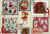 Christmas Craft Supplies / Stocks for your Christmas Projects