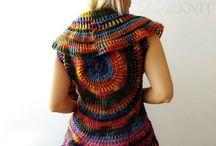 Knit/Crochet Vests
