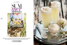 Summer Sippers / Woolworths Taste Magazine issue 91