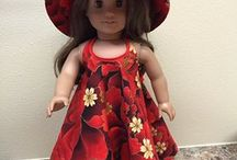 """Chelsea's Fashion / 18"""" Doll clothes and accessories. From easy sewing patterns and ideas that my daughter can make to  let's call Nanna for help.  What better way to practice her sewing skills than making clothes for her dolls."""