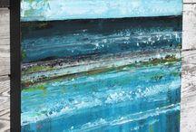 Pinturas de océano