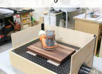 downdraft sanding table.