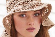 Crochet hats..Leg warmers..