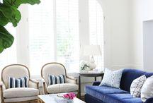 KÉK KANAPÉK / Csomó kék kanapé mindenféle szobában. Nagyon szeretnék egy kék kanapét!