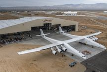Allen's Stratolaunch aircraft ! / Hadn't heard about this until yesterday.   It's a monster !!!! ...... and potentially a fascinating prospect .