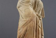 Ancient figurines and artefacts, miscellaneous / Different types of ancient figurines, mostly Greek and Roman