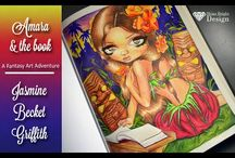 Jasmine Becket-Griffith colour Books Tutorials