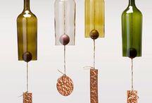 DIY Wine Bottle Crafts / by Roxanne Phillips