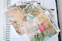 Romantic Planner Stickers / Planner Stickers ~ Fits Erin Condren Life Planner