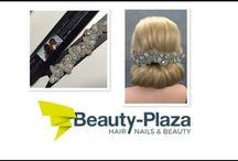 beauty plaza / deze kapsels zijn gemaakt met accessoires van beauty plaza