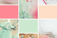 Inspiration Moodboards / { Inspiration for Brand Design & Colour Palettes }
