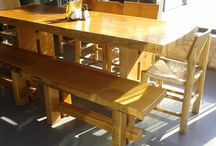 Refectory / FarmhouseTables / Big simple table for the outside kitchen