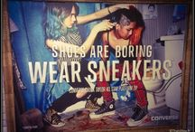 "Converse All Star* / ""Shoes are boring, wear sneakers!!"""