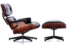 Modern In Designs / Eames Lounge Chair & Ottoman Replica from Modern In Designs.