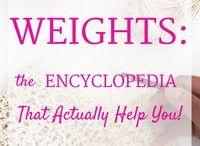 Wool weights