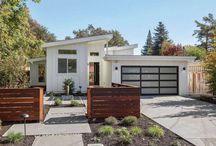 garage & backyard