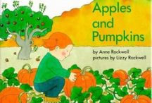 book nook: apples and pumpkins
