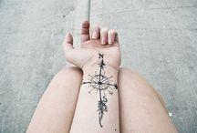 tattoos  / by Lisa McCranie