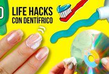 LIFE HACKS, ¡trucos para tu vida diaria!