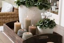 Country cottage decor ideas / Ideas for my home
