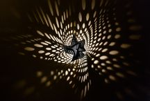 Starfish Light Sculptures / Starfish Light Sculptures are one of a kind 3D printed lamps by Ateljé Sotamaa. The Starfish light sculpture casts ephemeral 'light paintings' on wall surfaces. Each light sculpture and the spotted patterns it generates are unique. Its tentacles touch the wall lightly on three points, as if it was slowly crawling up the wall. The effect Starfish creates depends on the time of the day general illumination of the space - varying from delicate figures to sharp, expressive formations.