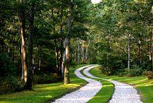 Дорога, дорожки, тропинки