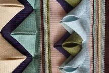 Fabric manipulation / Dying, felting,  #FabricDying, #WoolFelting, #FeltingFabric