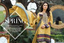 Embroidered lawn collection- spring lawn volume 2