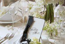 wedding テーブル