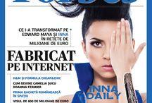 Magazine cover / by Irina Yazmint
