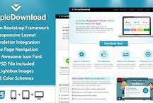 Webdesign & Themes / Premium website templates