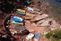 Camí des Pescadors - Fischerweg / Von Banyalbufar über Es Port des Canonge nach Esporles ...