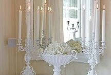 WHITE DECOR AND FURN