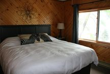 Lakeview Suites & Treeview Rooms / The Main Lodge offers both Lakeside Suites & Treeview Rooms, with a common area porch & shared fridge, coffee maker, kettle, microwave & sink.