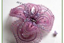 Šperky - Paličkovanie - bobbin lace work / vlastne palickovane prace homemade bobbin lace work