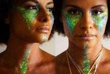 maquiagens carnaval